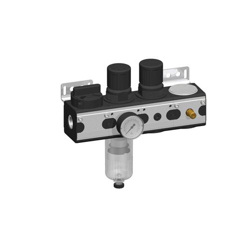 ACP - Wartungseinheit für Druckluftmembranpumpen für VA08, VA10, VA15, VA20