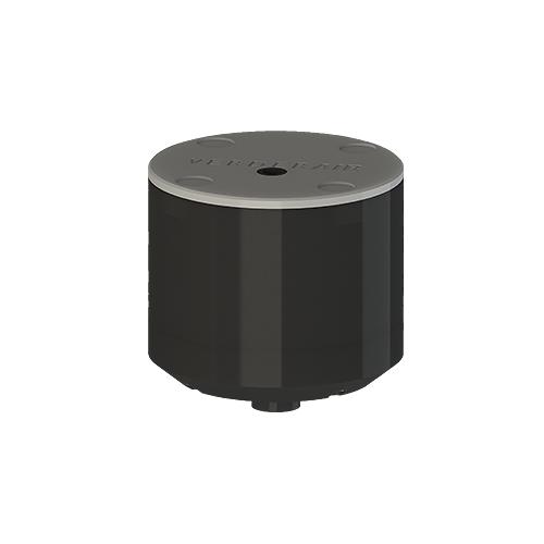 Pulsationsdämpfer  VA-P50 PE leitf./EPDM